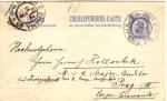 Pneumatic Postal Card 1899